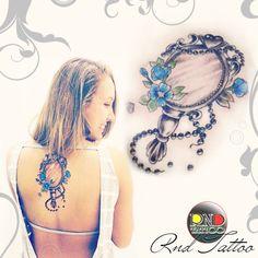 Espelho Tattoo  feminina