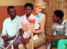 Princess Di - glamorous helping others
