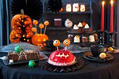 Halloween Kuchen mit der Lizenz zum Gruseln