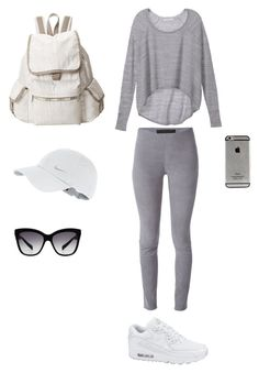 """Bez naslova #8"" by nejrasehicc ❤ liked on Polyvore featuring Victoria's Secret, Drome, NIKE, LeSportsac and Dolce&Gabbana"