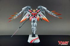 GUNDAM GUY: 1/100 Wing Gundam Zero - Customized Build