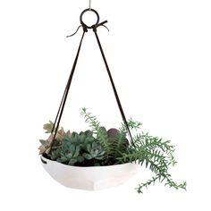 Faceted Hanging Planter | dotandbo.com