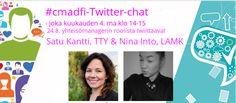 Kolmas #cmadfi-chat: Yhteisömanagerin työ