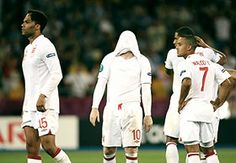 England lose again on penalties at Euro 2012.