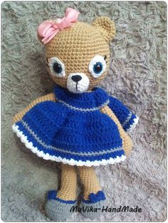 Amigurumi,toy,bear,teedy,princess,doll,child,baby