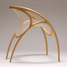 Poise chair,Harding, a sculptor, furniture designer and crafts