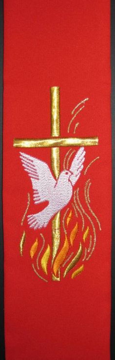 Pentecost Dove and Flames 105