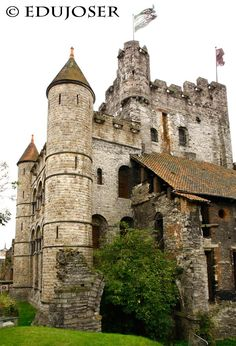 Gravensteen Castle, Castillo de Gravensteen, Belgium( 2 ), © Edujoser, www.castillosdelmundo.es