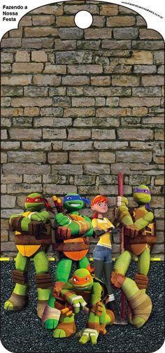 Ninja Turtles Free Party Printables and Invitations.