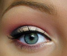 Perfect spring eye makeup