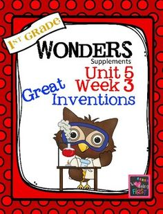 If you are already using or you are new to the Wonders (2014 edition) Reading Program, this 76 page packet is for you. This packet will help you teach the skills in Unit 5 Week 3 of 6. You'll have help with weekly lesson planning, printables for centers or word work activities, anchor charts, essential question posters, vocabulary and spelling practice, and much, much more.