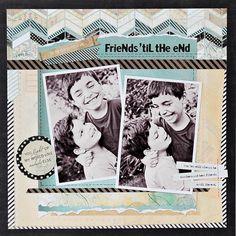 Friends Til The End | Kelly Noel - Basic Grey