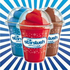 The sun is shining here at Noisy HQ and although it's still technically winter it has definitely put us in the mood for a refreshing Starslush! Now just to decide a flavour...or should we go for a cool Comic Combo? #starslush #cosmiccombo