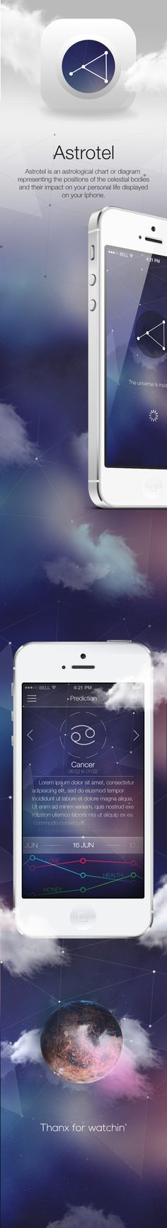 Astrotel on Behance