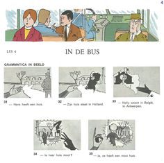 Audiovisuele Methode Nederlands / Les 4 - In de bus (4)