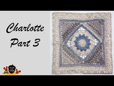 Today the thirdpart in theshort three-part video tutorial for Charlotte, designed by Dedri Uys. I have showed you part 1 in which we made the central square, and part 2 in which we grew the squareby adding triangles. Now time to grow the square even more by adding a butterfly border. Resources Written pattern for…