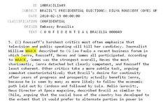 ALCAGUETE  E  DEDO DURO:  SEQUELA DO BRASIL DITADOR MANTIDO PELA TV GROBO.  ISSO AINDA EXISTE, PODE?  O jornalista William Waack, da Rede Globo, INFORMANTE, PUXA SACO E ALCAGUETE do  governo americano/EUA, segunda vazamento de informações e documentos da Wikileaks.  Veja cópia de documento.  veja completo aqui, http://brasil29.com.br/o-alcaguete-william-waack-da-globo-e-citado-no-wikileaks-como-informante-dos-eua/
