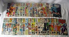 Alpha Flight Marvel Comic Books Lot Of 40