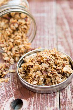 Try this simple pecan quinoa granola today!
