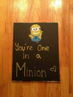 Minion Valentine - could maybe find Minion stickers to use with these?