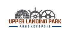 Upper Landing Park Logo.  Designed by Drake Creative in Millbrook, NY.