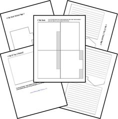 Free Lapbooks and Free Templates, Foldables, Printables, Make Your Own Interactive Student Notebooks, Science Notebooks, Interactive Books, Teaching Tools, Teacher Resources, Lap Book Templates, Teacher Hacks, Science Lessons, Graphic Organizers