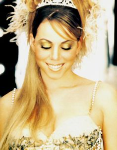 Mariah Carey in Breakdown music video (1998). One of my favorite MC videos. Playing dress up and looking fab!