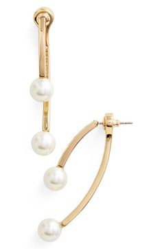 Rebecca Minkoff Drop-Back Earrings available at #Nordstrom