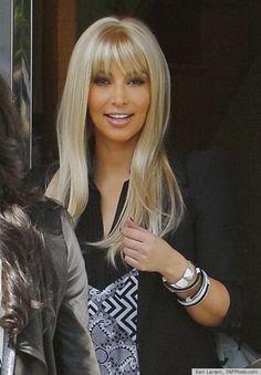 Kim Kardashian blonde wig