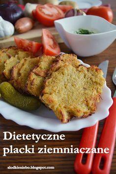 Słodkie niebo: Dietetyczne placki ziemniaczane z piekarnika