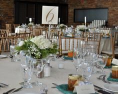 Winter Woodland Themed Centerpieces