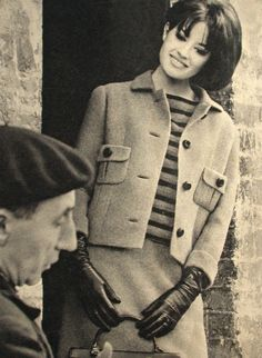 Fashion 1960s - leather gloves