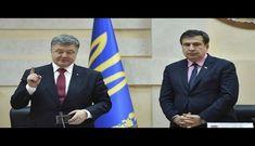 Saakaşvili Poroşenkoya barışıq təklif edib