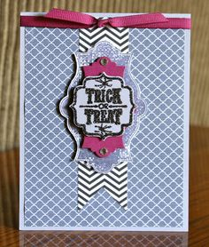 Stampin' Up! Card by Krystal's Cards and More: Halloween Trick or Treat