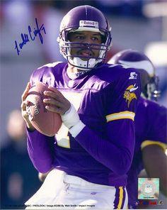 Randall Cunningham enjoyed the greatest season of his career in Minnesota during… Minnesota Vikings Football, Nfl Vikings, Best Football Team, National Football League, Nfl Football, American Football, Football Players, Football Helmets, Cris Carter