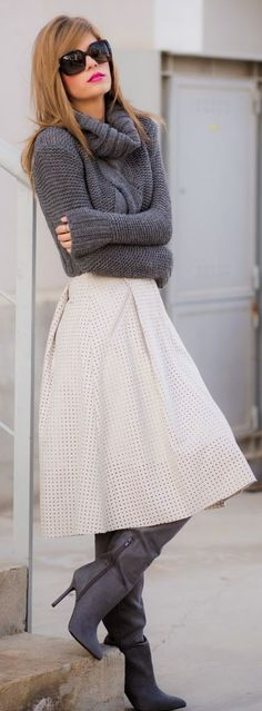18 Inspirations How to Wear a Turtleneck Stylishly