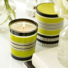 Trevelyan large scented candle from @designersguild