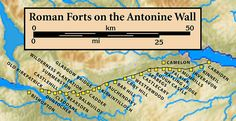 The Antonine Wall is a stone and turf fortification built by the Romans across what is now the Central Belt of Scotland Roman Britain, Roman History, Great Wall Of China, Ancient Rome, British Isles, Roman Empire, Great Britain, Castle, England
