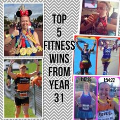 Top 5 Fitness Wins During My 31st Year Of Life!!