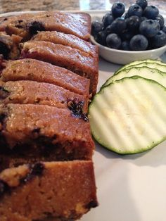 The Full Fridge: Blueberry Zucchini Bread