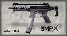 Sig Sauer MPX - great submachine gun option for Z Day