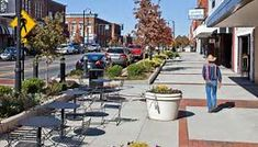 Image result for Small Town Streetscape