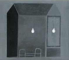 "Espen Erichsen; Acrylic Painting ""House 12"""
