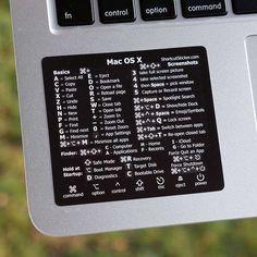 Macbook Shortcuts, Macbook Hacks, Macbook Pro Tips, Apple Macbook Pro, Mac Book, New Macbook, Macbook Air, Mac Tips, Macbook Stickers