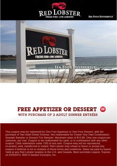 Take Coupons: Coupons 2014, Coupon Codes, printale Coupons - May 2014 http://takecoupons.net/restaurantscoupons/item/red-lobster-coupons