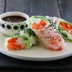 » UKEMENY 28/2017 Oriental Food, Key Lime Pie, Frisk, Sashimi, Creative Food, Fresh Rolls, Food Inspiration, A Food, Salmon