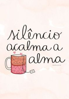 Silêncio acalma a alma-Silence soothes the soul The Words, More Than Words, Affirmations, Motivational Quotes, Inspirational Quotes, Little Bit, Messages, Positive Vibes, Inspire Me