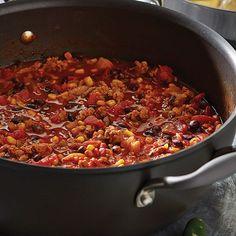 Turkey+Chili+with+Cornbread+-+The+Pampered+Chef®