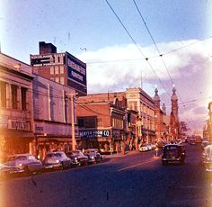 Thanks to Milwaukeean Karl Bandow, who found a treasure trove of old Kodachrome half-frame slides of Milwaukee in an antiques store, we can offer up these gorgeous photos of the city as it appeared in the 1950s.