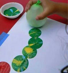 Balloon paintings